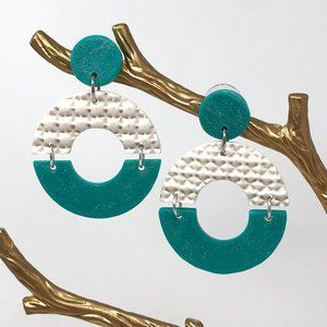 Handmade Artisan Clay Earrings